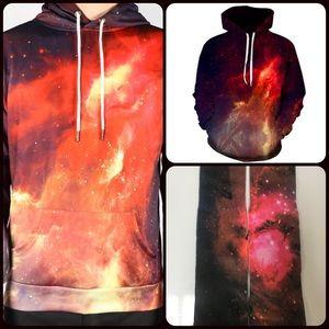 Other - Red Nebula Galaxy Hoodie + Socks Bundle! 🎉🔥